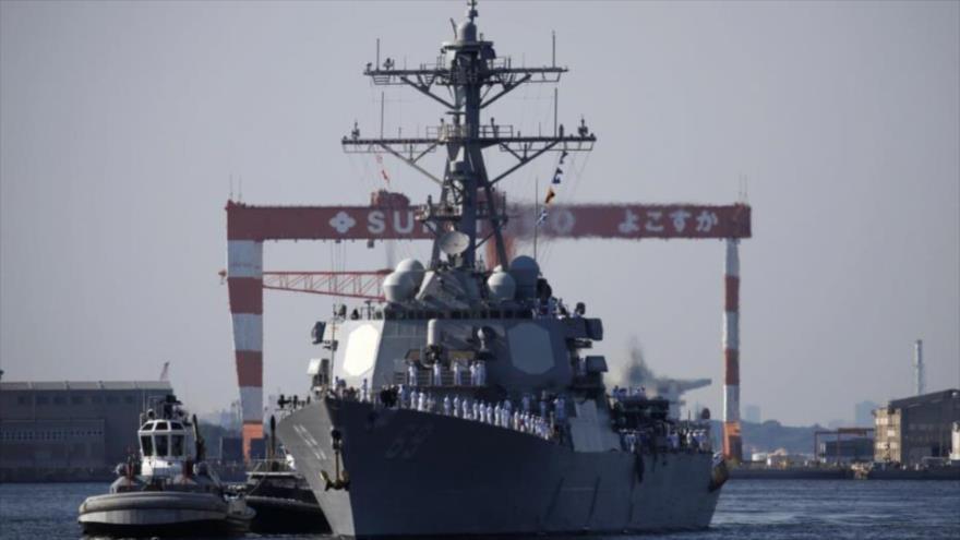 Vídeo: EEUU envía buque de guerra a Japón a días de la cumbre Trump-Kim