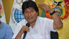 Morales recuerda a Trump que 'el mundo no es su hacienda'