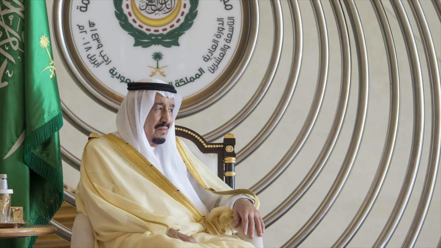 El rey de Arabia Saudí, Salman bin Abdulaziz Al Saud, 15 de abril de 2018.