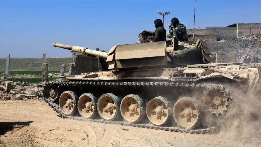 Vídeo: Siria envía fuerzas al sur para ofensiva inminente