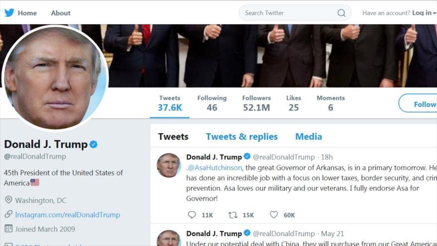 Revelado: Más de un cuarto de seguidores de Trump en Twitter son falsos