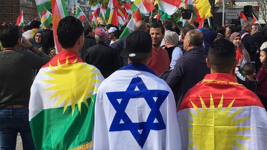 Israel apoya la creación de un Estado kurdo afín en Oriente Medio