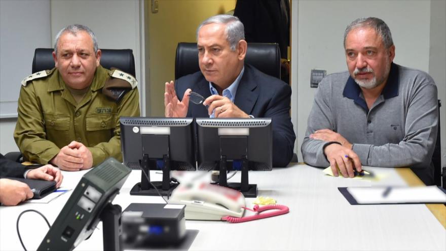 Gabinete de Israel traslada sus reuniones a un búnker subterráneo