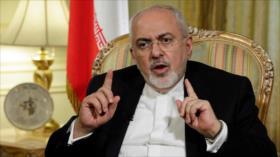 Zarif tacha de 'falsos' declaraciones de Pompeo sobre Irán