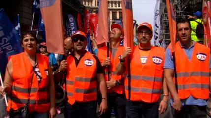 Policías exigen jubilación anticipada a los 59 años en España