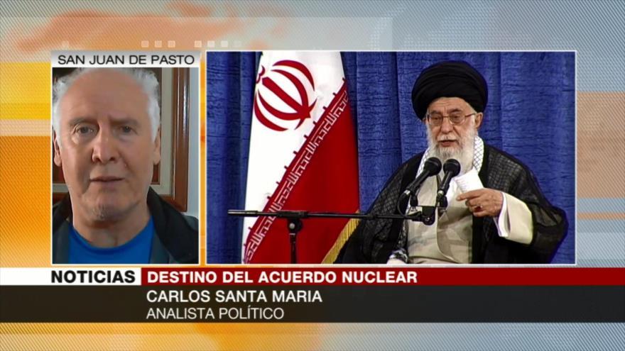 Santa María: Demandas de Irán sobre pacto nuclear son legales