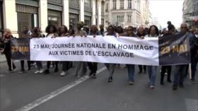 Marcha en Francia contra racismo y por víctimas de la esclavitud