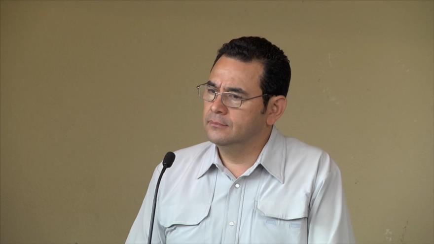 Presidente de Guatemala enfrenta una seria crisis de gobernabilidad