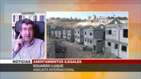Eduardo Luque: Israel usurpa hogares palestinos