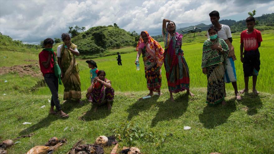 Amnistía Internacional denuncia masacre de hindúes en Myanmar