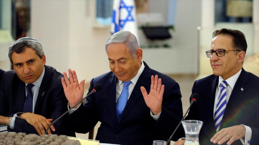 Gabinete israelí no permite que Netanyahu pueda declarar guerra
