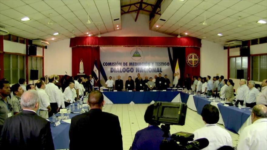Suspenden temporalmente Diálogo Nacional en Nicaragua