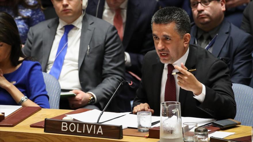 Bolivia alza la voz en ONU por Palestina ante violencia israelí