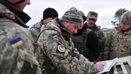 Soldados ucranianos revelan plan de ataque durante el Mundial