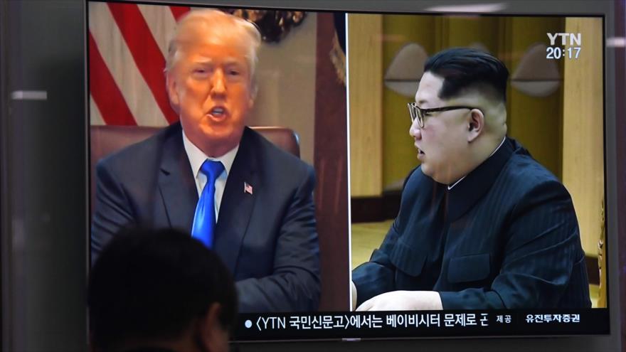 Reunión entre las dos coreas para subsanar la tensión con Trump