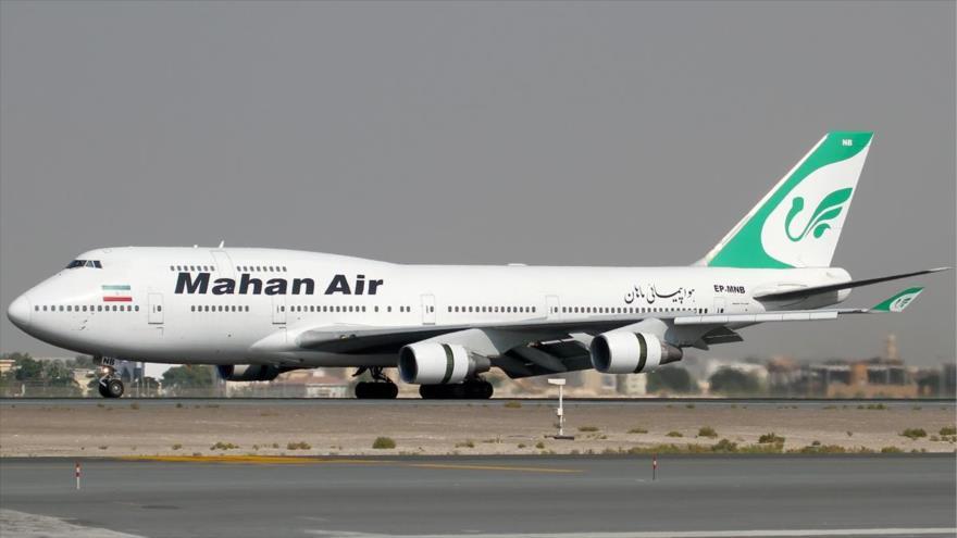 EEUU apunta a cuatro aerolíneas iraníes con nuevas sanciones