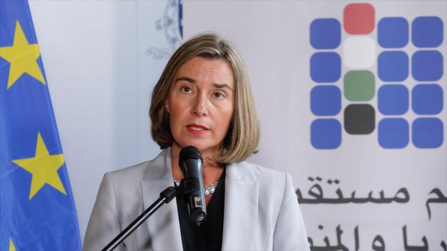 Mogherini reclama 'soberanía' de la UE en pacto nuclear con Irán