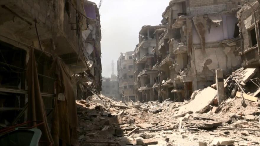Comienza el retorno de civiles a sus hogares en el sur de Damasco
