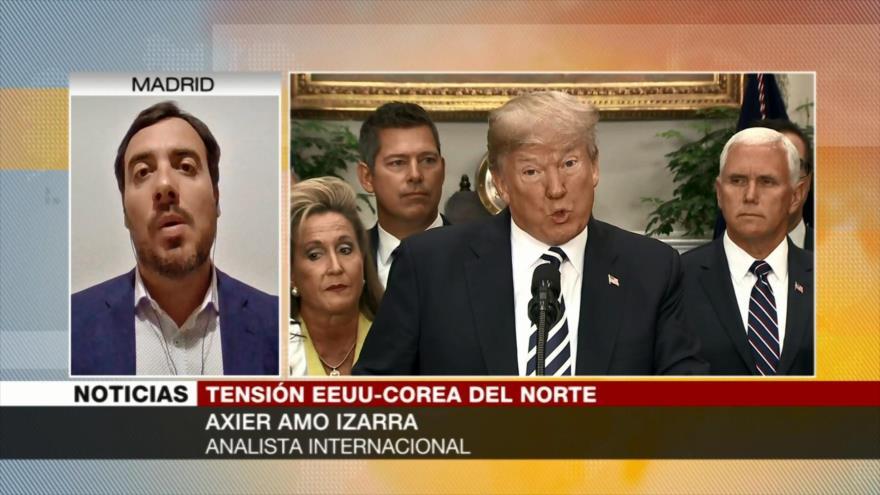 Amo Izarra: EEUU crea tensión mundial por sus fines geopolíticos
