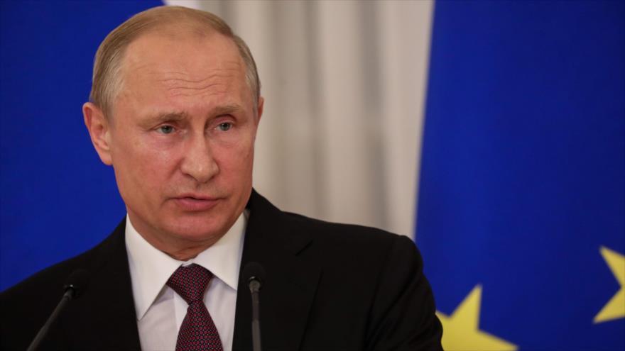 Putin reprocha a Trump y alaba a Kim por cumplir con todas sus promesas