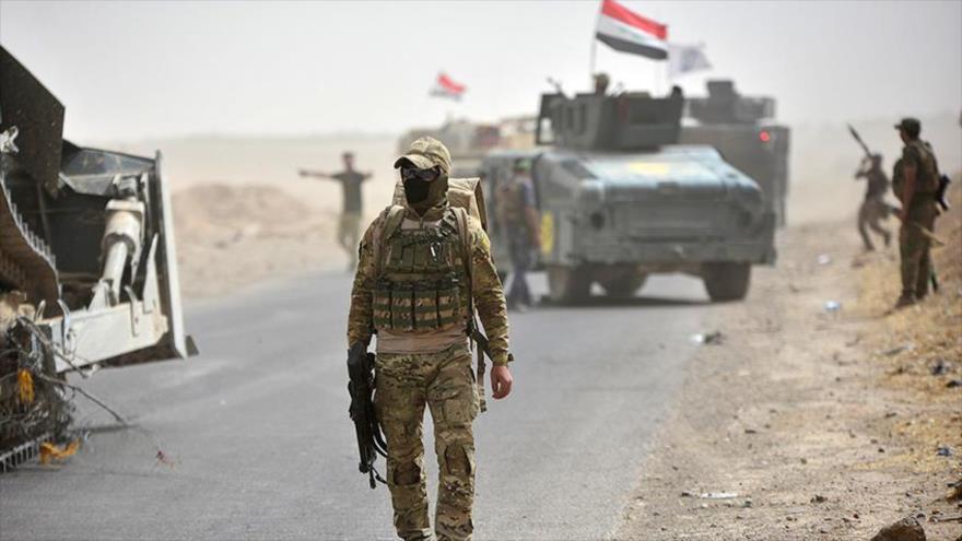 Fuerzas iraquíes abaten a 8 terroristas suicidas de Daesh