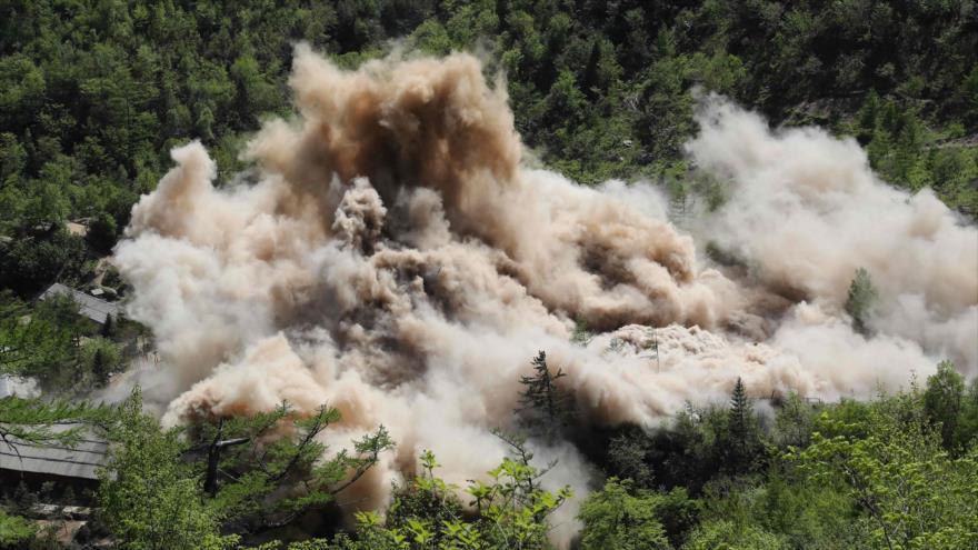 Vídeo: Así fue la destrucción del polígono nuclear norcoreano