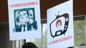 Periodistas de Honduras se cansan de exigir justicia