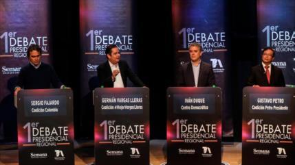 Debate electoral en Colombia: Corrupción y falta de democracia