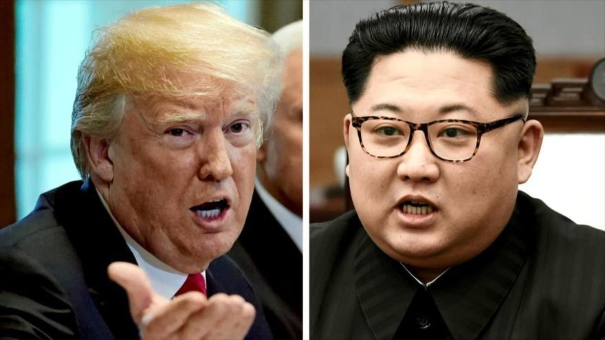 Doble discurso de Trump frustró reunión con Kim Jong-un