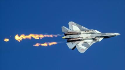 Vídeo: Su-57, caza más moderno de Rusia, realiza ataques en Siria