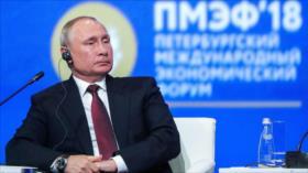 Putin conmina a la OTAN a no 'cruzar la línea roja' de Rusia
