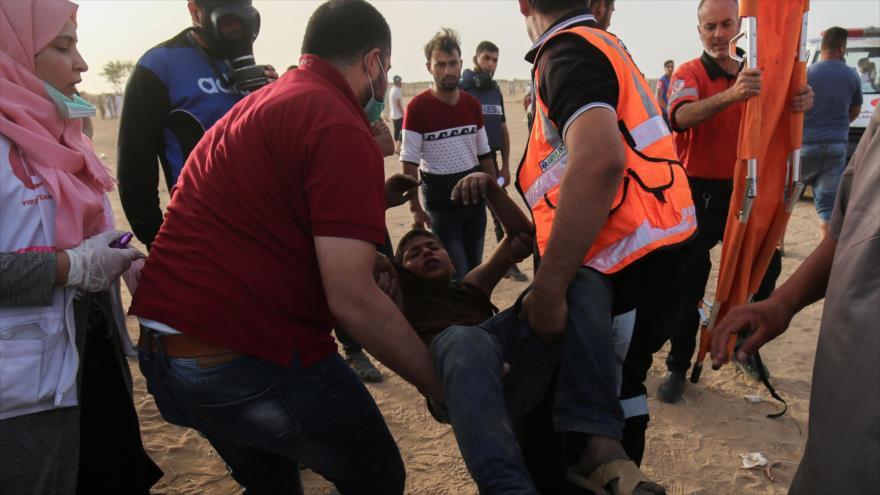 Parlamento británico exige condenar masacre de manifestantes palestinos
