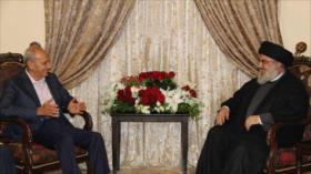 Nasralá y Aoun apoyan a Palestina y llaman a la resistencia