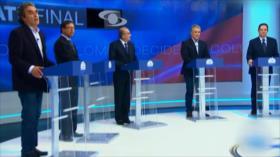 Candidatos de Colombia realizan último debate televisivo