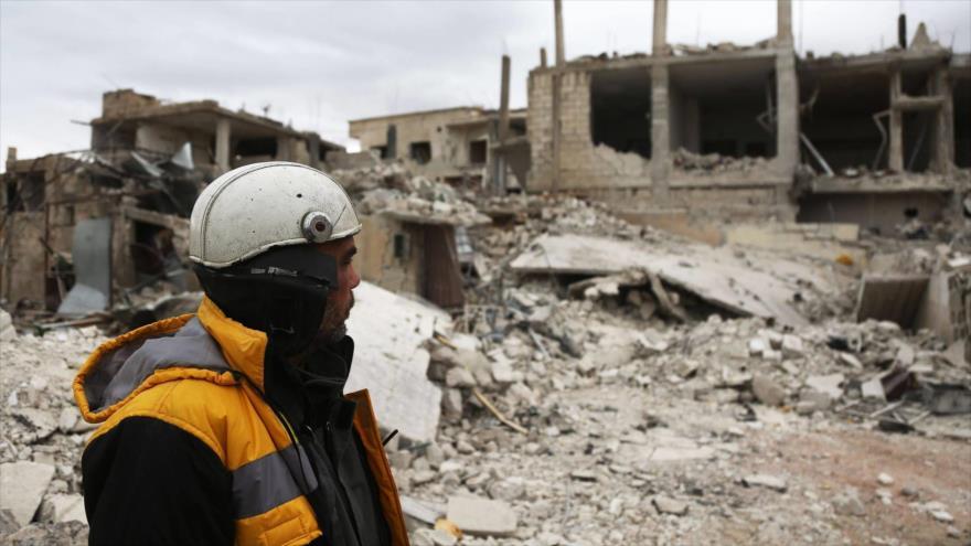 Asesinan a cinco cascos blancos o 'artistas de montaje' en Siria