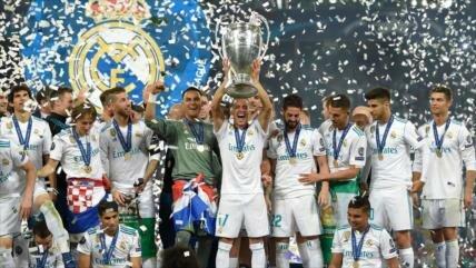 Real Madrid derrota a Liverpool; logra su 13ª Liga de Campeones