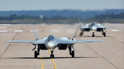 Informe: ¿Vídeo de Su-57 en Siria, respuesta de Rusia a F-35?