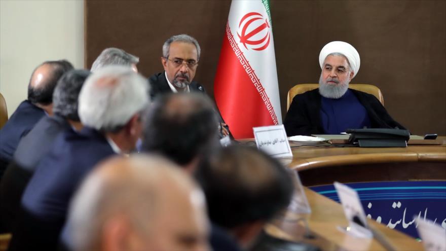 Rohani: EEUU miente que objetivo de sanciones no es pueblo iraní