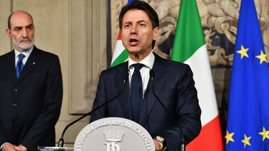 Conte rechaza formar un gobierno y mete a Italia en crisis