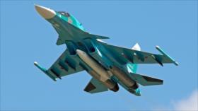 Caza Su-34 ruso sobrevuela El Líbano e intercepta un F-16 israelí