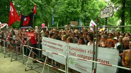 25 000 personas se manifiestan en contra de AfD en Alemania