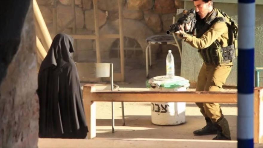 Vídeo: Fuerzas israelíes disparan a una mujer sorda en Al-Quds