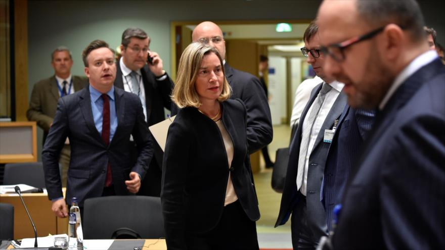 UE acuerda ampliar rápidamente sanciones a Venezuela