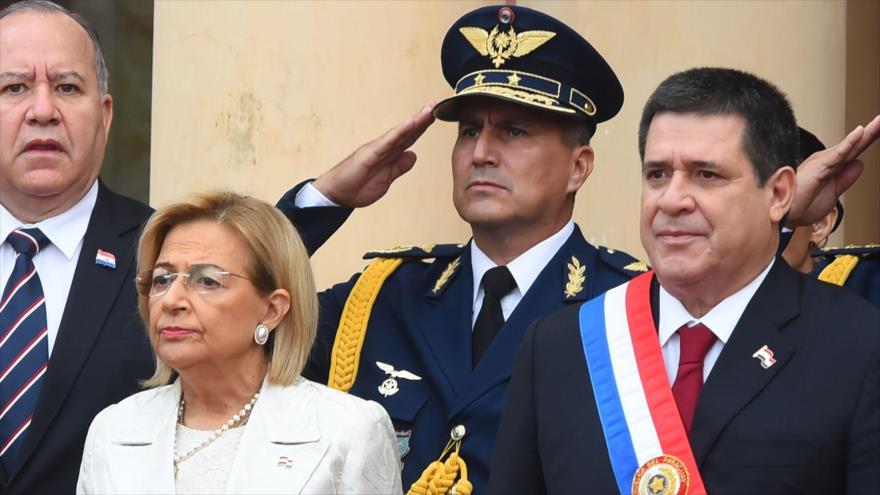 Horacio Cartes presentó su renuncia a la Presidencia de Paraguay