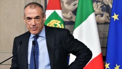 El presidente de Italia impone un Gobierno pro-euro no electo