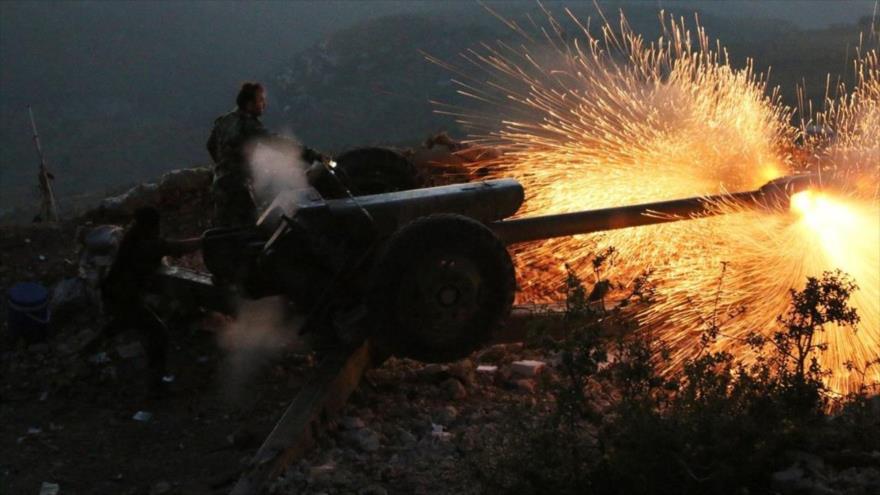 Siria desata lluvia de cohetes sobre fuerzas apoyadas por Turquía
