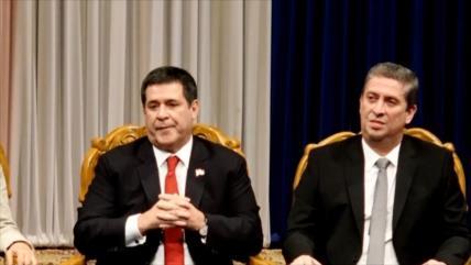 Presidente de Paraguay presenta renuncia