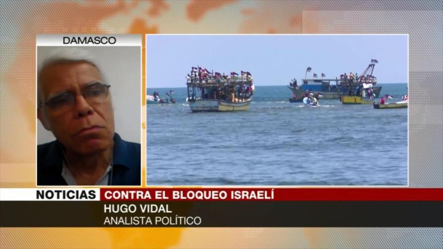 Hugo Vidal: Occidente no tiene conciencia de situación en Gaza