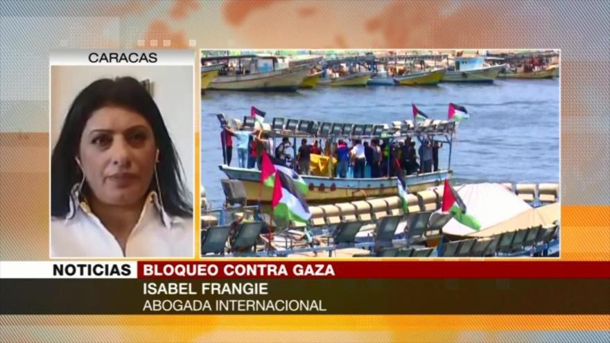 Isabel Frangie: Resistencia, única arma de palestinos ante Israel