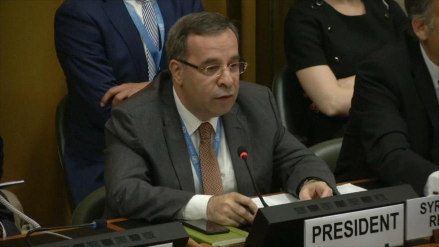 EEUU, irritado por presidencia de Siria en Conferencia de Desarme